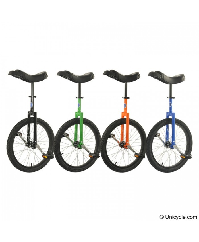 "Club 20"" Freestyle Unicycle Black Tire"