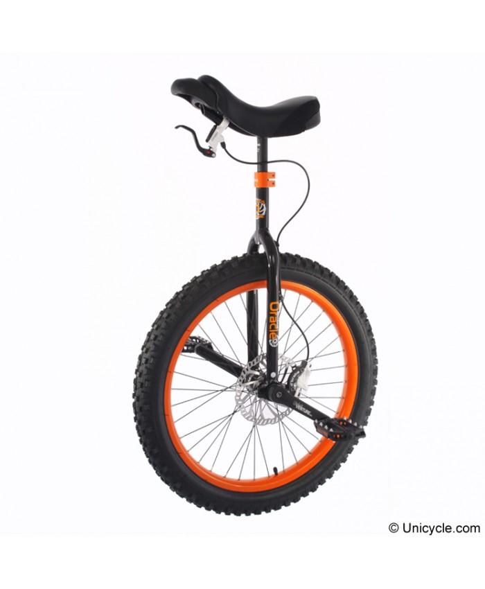 "Monociclo Nimbus Oracle 24"" Negro/Naranja"