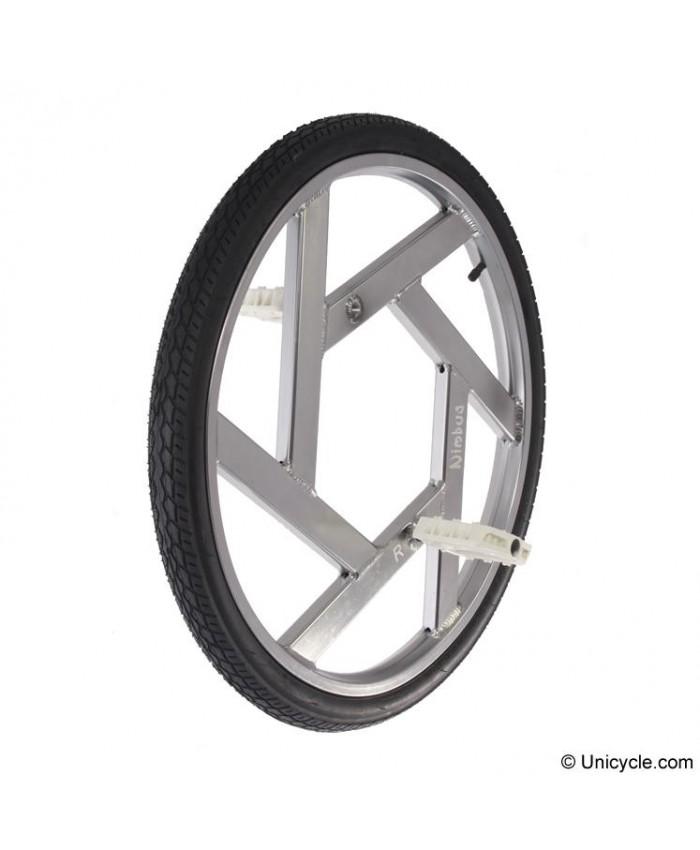 "Ultimate Wheel 24"" plateada"