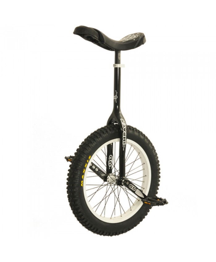 "Impact 19"" Gravity Unicycle - 32mm - Black"